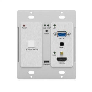 HDBT800TV-4KU wall plate transmitter
