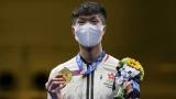恭喜張家朗奪得本界2020東京奧運香港首金